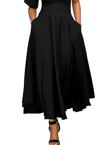 Žene A kroj Izlasci Suknje - Jednobojni