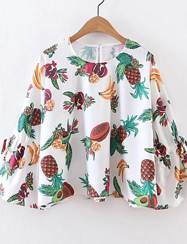 Majica s rukavima Žene Dnevno Voće