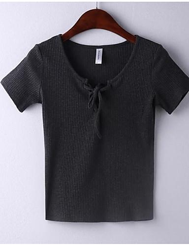 Majica s rukavima Žene Dnevno / Izlasci Jednobojni