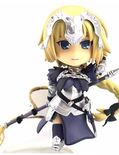 halpa Cosplay ja rooliasut-Anime Toimintahahmot Innoittamana Fate / stay night Jeanne d'Arc PVC 12 cm CM Malli lelut Doll Toy