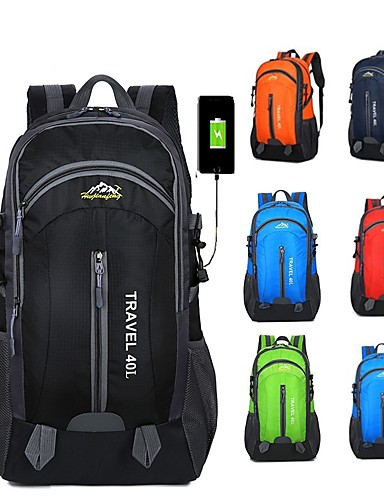 9813c297643d 40 L Hiking Backpack - Lightweight