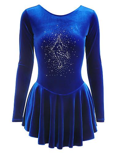 Skating Dresses-girls Purple Skating Dress Punctual Timing Sporting Goods