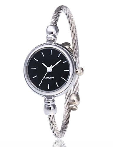 cheap Bracelet Watches-Women's Bracelet Watch Wrist Watch Quartz Black /