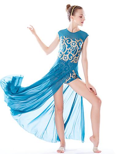 povoljno Odjeća za balet-Balet Haljine Žene Seksi blagdanski kostimi Elastičan / Swim Fabric / Likra Šljokice Prirodno Nakit za kosu / Haljina