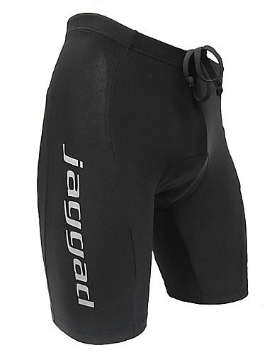 cheap Cycling Clothing-Jaggad Men's Cycling Padded Shorts - Black Bike Shorts Padded Shorts / Chamois Pants Breathable Quick Dry Reflective Strips Sports Nylon Mountain Bike MTB Road Bike Cycling Clothing Apparel