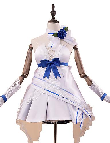levne Cosplay a kostýmy-Inspirovaný Guns Girl - Škola DayZ Raiden Mei Anime Cosplay kostýmy japonština Cosplay šaty / Šaty Módní Bez rukávů Rukavice / Pásek / Neckwear Pro Dámské