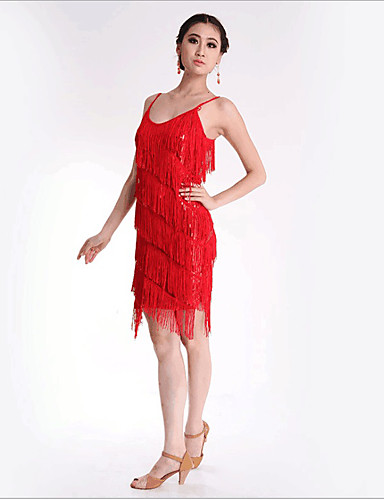 a429666e ... Costume Women's Dress Party Costume Flapper Dress Cocktail Dress Silver  / Red / Blue Vintage Cosplay Party Prom Sleeveless Short / Mini / Sequins /  ...