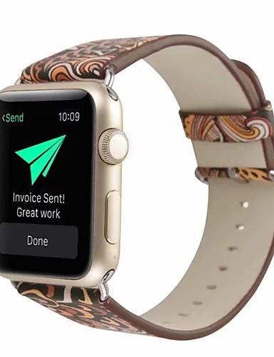 prava koža / Poli uretanska Pogledajte Band Remen za Apple Watch Series 4/3/2/1 Smeđa 23 cm / 9 inča 2.1cm / 0.83 Palac