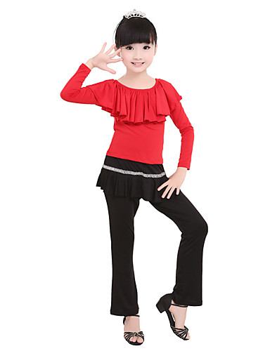 preiswerte Ballettbekleidung-Ballett Unten Mädchen Training / Leistung Elastan / Lycra Kombination Normal Hosen