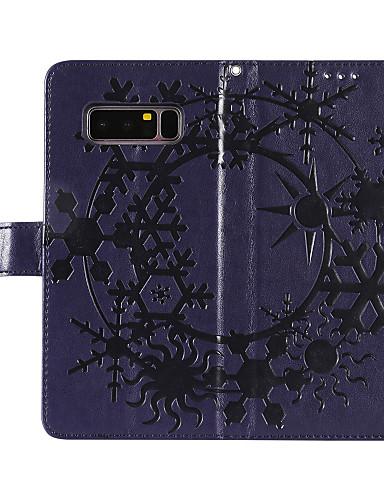 Θήκη Za Samsung Galaxy Note 8 Novčanik / Utor za kartice / sa stalkom Korice Jednobojni Tvrdo PU koža za Note 8 / Note 4 / Note 3