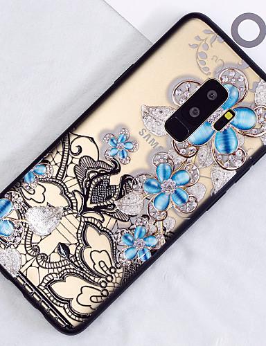 Θήκη Za Samsung Galaxy S9 / S9 Plus / S8 Plus Translucent / Uzorak Stražnja maska Cvijet Tvrdo PC
