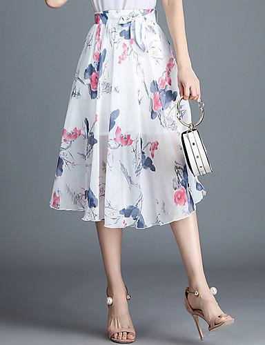 9af86bd280a Γυναικεία Κούνια Ενεργό Φούστες - Γεωμετρικό / Συνδυασμός Χρωμάτων