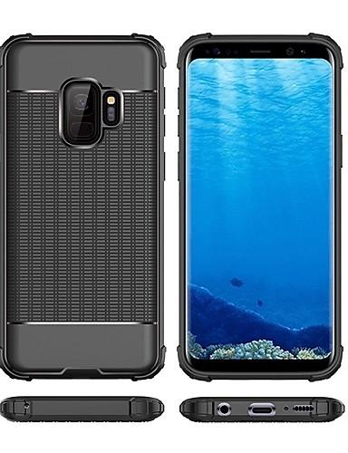 Θήκη Za Samsung Galaxy S9 / S9 Plus / S8 Plus Otporno na trešnju Stražnja maska Jednobojni Mekano TPU