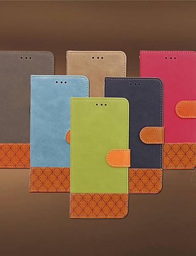 Θήκη Za Xiaomi Xiaomi Redmi Note 5 Pro / Xiaomi Redmi 6 Pro / Xiaomi Redmi Note 4X Utor za kartice / Otporno na trešnju / sa stalkom Korice Jednobojni / Geometrijski uzorak Tvrdo Tekstil