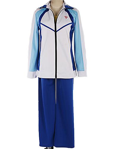 levne Cosplay a kostýmy-Inspirovaný Zdarma! Makoto Tachibana Anime Cosplay kostýmy Cosplay šaty / Školní uniformy Jednobarevné / Jednoduchý Vrchní deska / Kalhoty / Kostým Pro Pánské / Dámské