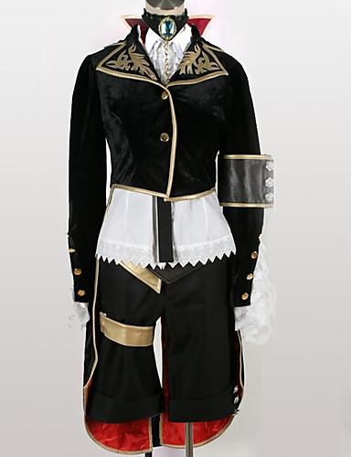 """billige Anime Kostymer-Inspirert av Vokaloid Cosplay Anime  """"Cosplay-kostymer"""" Cosplay Klær Moderne Topp / Mer Tilbehør / Shorts Til Herre / Dame"""