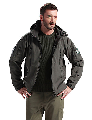 Helpful Outdoor Softshell Jacket Men Military Tactical Waterproof Sport Clothes Fishing Hiking Male Coat Mens Waterproof Ski Military Sports & Entertainment Camping & Hiking