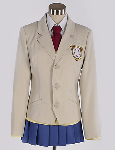 """billige Anime Kostymer-Inspirert av Cosplay Cosplay Anime  """"Cosplay-kostymer"""" Cosplay Klær Britisk Frakk / Vest / Genser Til Herre / Dame"""