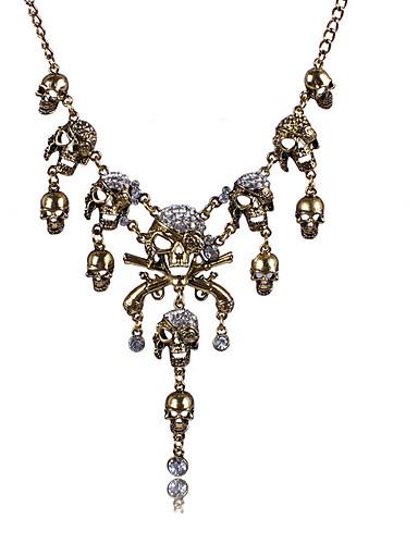 dámský náhrdelník z módní slitiny