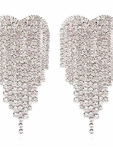abordables Joyas de Moda-Mujer Pendientes - Moda Un Color