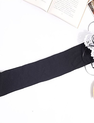49e9065d12e Maid Costume Cosplay Women s Adults  Princess Lolita Tights Girly Socks   Long  Stockings Maid Suits Thigh High Socks Coffee White Black Cat Lolita ...