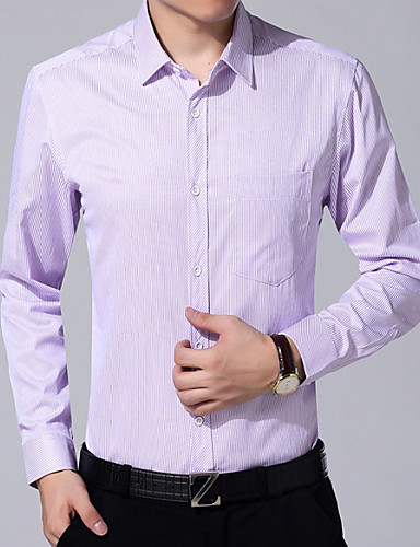 Men's Shirt - Striped Print