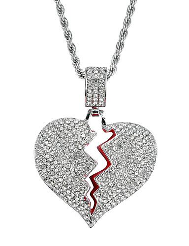 お買い得  Men's Trendy Jewelry-男性用 / 女性用 ベーシック ソリッド ネックレス