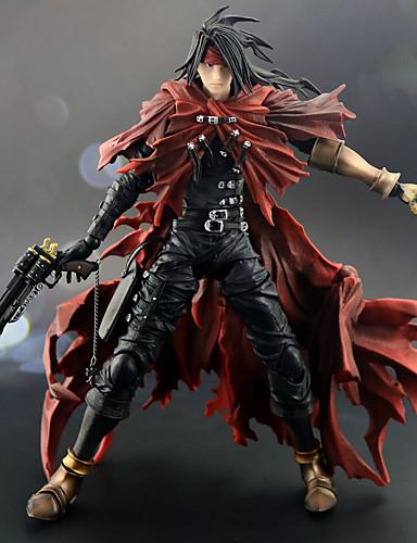 billige Cosplay og kostumer-Anime Actionfigurer Inspireret af Final Fantasy Vincent Valentine PVC 27 cm CM Model Legetøj Dukke Legetøj