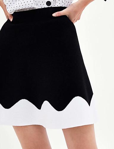8aaee92dd01 γυναικεία πάνω γόνατο μια φούστα γραμμή - μπλοκ χρώμα. $21.44. USD  $14.99(1). Χαμηλού Κόστους Γυναικείες Φούστες-Γυναικεία ...