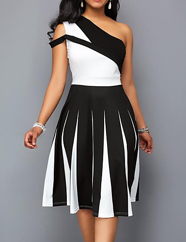 cheap Women  039 s Dresses-Women  039 s Basic Sheath Swing b559547a2180