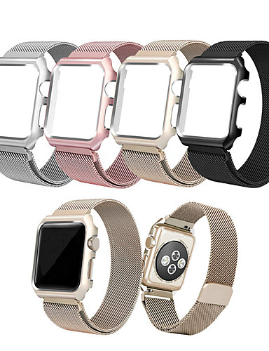 Watch Band varten Apple Watch Series 4/3/2/1 Apple Milanolainen Ruostumaton teräs Rannehihna