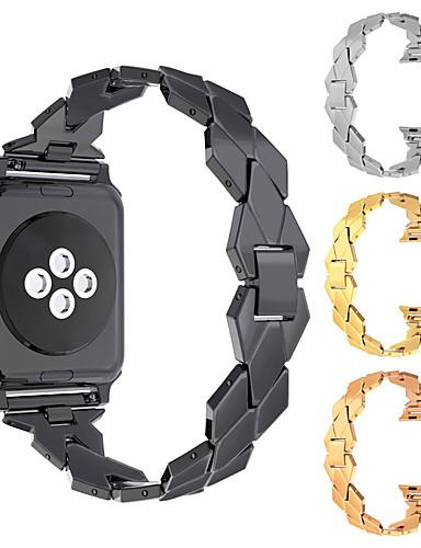 Watch Band varten Apple Watch Series 4/3/2/1 Apple Perinteinen solki Metalli Rannehihna