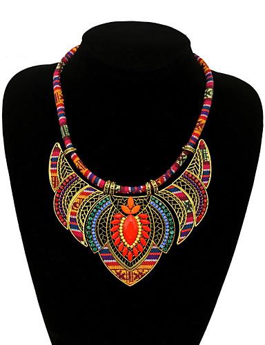 billige Trendy smykker-Dame Vintage Legering Ensfarget