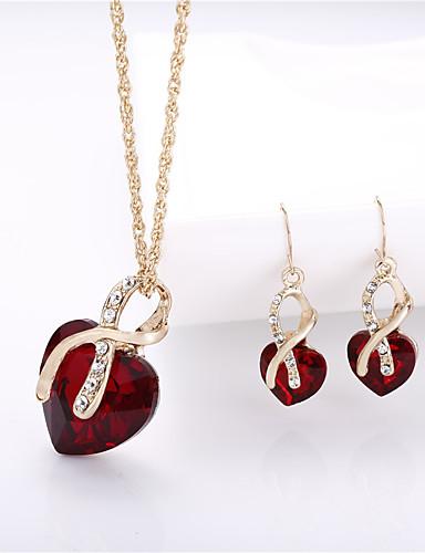 Per donna Essenziale Parure di gioielli Tinta unita