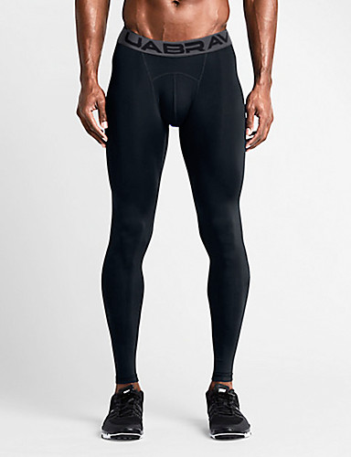 cheap Cycling Clothing-Men's Compression Pants Compression Base layer Tights Bottoms Lightweight Breathable Quick Dry Soft Sweat-wicking Black Grey Winter Road Bike Mountain Bike MTB Basketball Stretchy / Road Bike Cycling