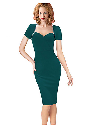 cheap Women  039 s Dresses-Women  039 s WorkWear Bodycon Dress 0b05f5f61034