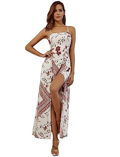 d8163354e11b Γυναικεία Μπόχο Σε γραμμή Α Φόρεμα - Φλοράλ