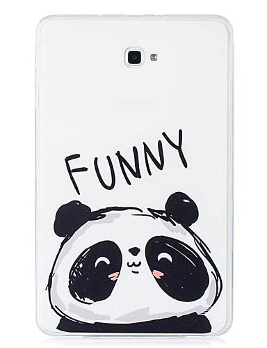 Etui Käyttötarkoitus Samsung Galaxy Tab E 9.6 / Tab A 10.1 (2016) Kuvio Takakuori Panda Pehmeä TPU
