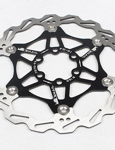 halpa Jarrut-Polkupyörän kelluva jarrulevy Maastopyörä Käytettävä / Vähentää hiertämistä Aluminum Alloy / Ruostumaton teräs / rauta Musta