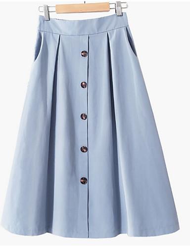 ieftine Pantaloni de Damă-femeile midi o fusta linie - solid colorate