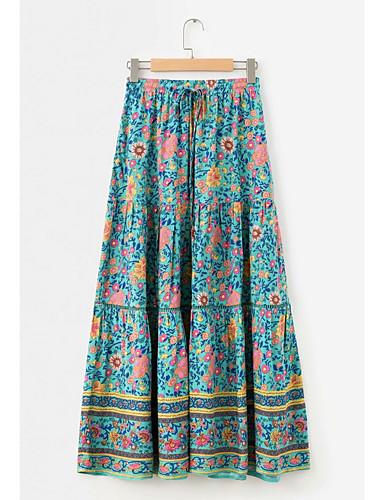 503f162b276e γυναικεία φούστες swing midi - floral. $28.59. USD $19.99 · Χαμηλού Κόστους  Γυναικείες Φούστες-φούστες maxi ...