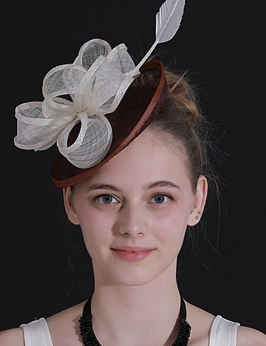 Adattabile Per Donna Kentucky Derby Elegante Tessuto Tinta Unita #07291184