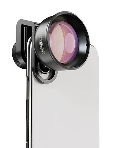 Matkapuhelin Lens Pitkäpolttovälinen objektiivi lasi / Alumiiniseos 2X 40 mm 0.045 m 48 ° Uusi malli / Tyylikäs / Lovely