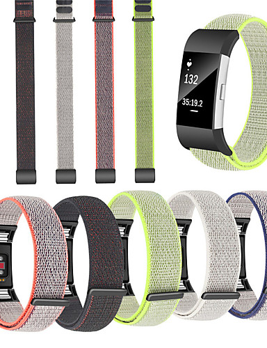 Watch Band varten Fitbit Charge 2 Fitbit Urheiluhihna Nylon Rannehihna