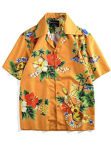 halpa Etniset & Cultural Puvut-näkemiin Hula-tanssija Aikuisten Miesten Naisten Vapaa-aika Rantatyyliä T-paita Havaijin puvut Luau-puvut Käyttötarkoitus Party Rento / arki Festivaali Polyesteria Pusero