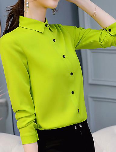 povoljno Majica-Majica Žene Jednobojni Svijetlo zelena