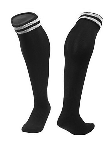 cheap Outdoor Clothing-Hiking Socks Compression Socks Knee high Socks 1 Pair Warm Quick Dry Reduces Chafing Comfortable Cotton Autumn / Fall for Men's Women's Climbing Traveling Outdoor Yellow