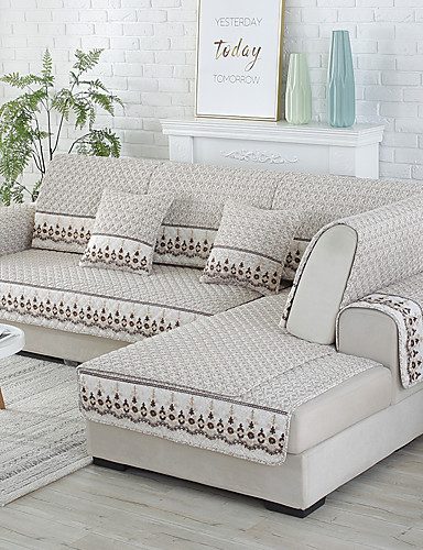 cheap Room-Sofa Cover / Sofa Cushion Contemporary Quilted Cotton Slipcovers