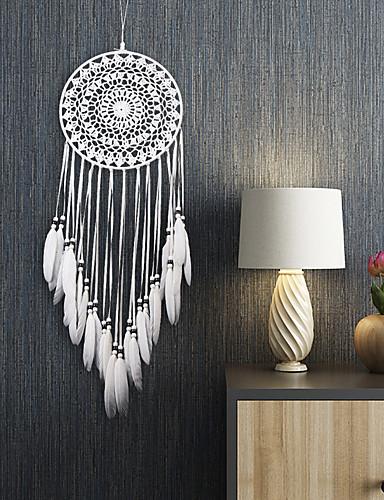 cheap Festival-Dreamcatcher - Feather Bohemia 1 pcs Wall Decorations