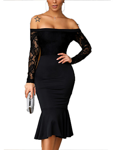 b3f34edcb26a cheap Women's Dresses-Women's Sophisticated Elegant Sheath
